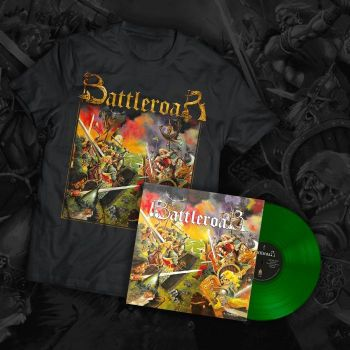 Battleroar (Coloured, Transparent Green) + T-shirt Bundle