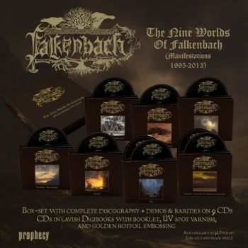 The Nine Worlds Of Falkenbach (Manifestations 1995-2013) (CD Boxset)